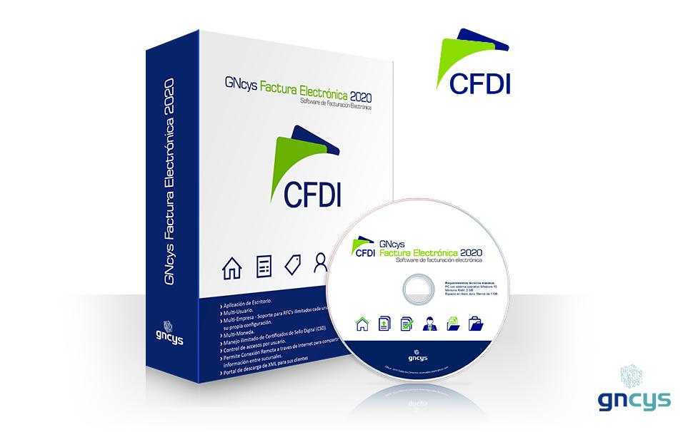 GNcys Factura Electrónica 2021 (CFDI)